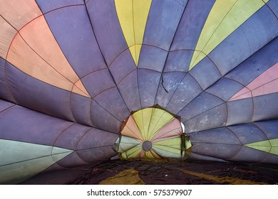 Hot air balloon festival 2016 scenery view with unidentified people on scene.