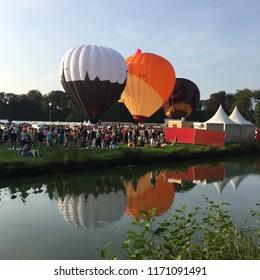 Hot Air Balloon Festival in Barneveld Netherlands
