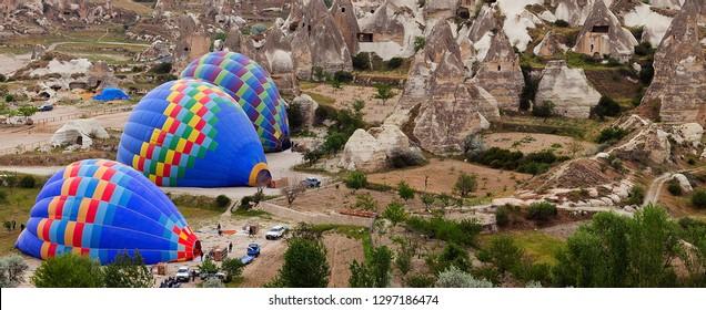 Hot Air Balloon Flight South Cappadocia Tour. Goreme Open Air Museum and Fairy Chimneys Day Tour Turkey.