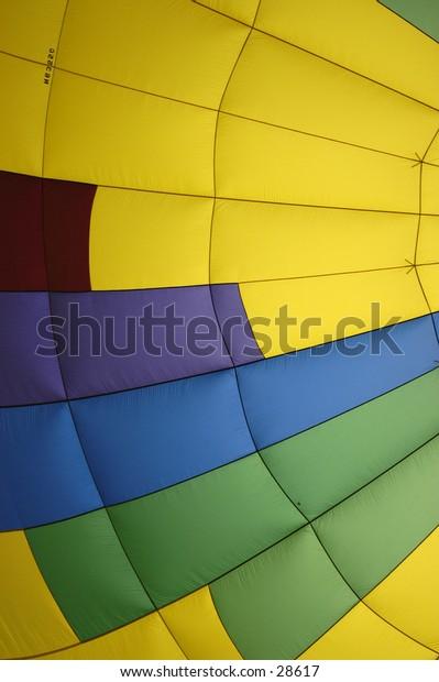 Hot Air Balloon Interior.