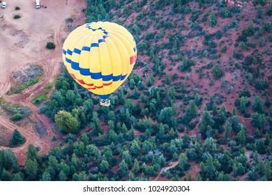 Hot Air Ballooning Sedona Arizona