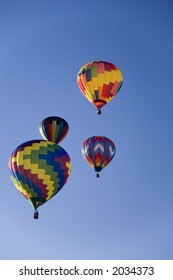 Hot air balloons at Balloonapalooza, Las Vegas, Nevada