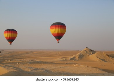Hot Air Baloon at Dubai