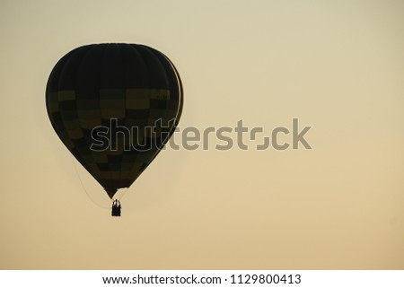 Hot Air Baloon in Italy