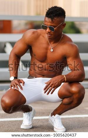 Hot black men bulge