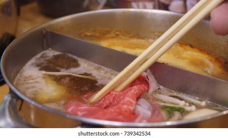 hot boiling, shabu
