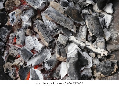 hot charcoal texture