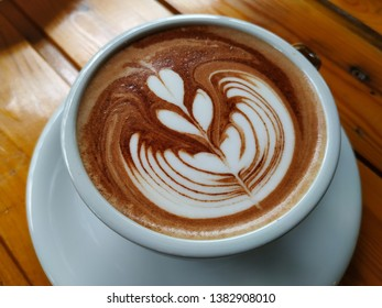 Hot Chocolate with art cofffee cup
