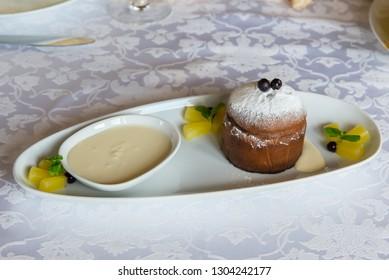 Hot Chocolate Muffin