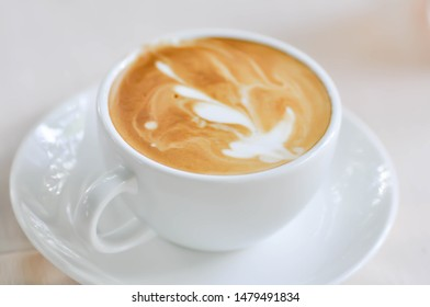 hot cofffee, cappuccino coffee or latte coffee