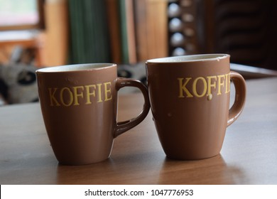Hot Coffie in chilled morning