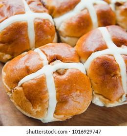 Hot Cross Bun for Easter