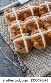 Hot cross buns - traditional Easter food