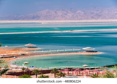 Hot day at the Dead Sea.