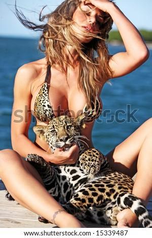 Bikini girl hot wild
