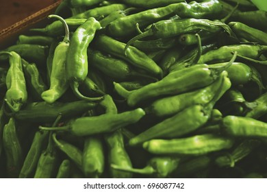 Hot Green Chiles