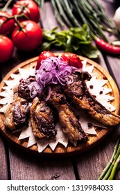 Hot Meat Dishes - Ribs with Tomatoes
