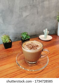 Hot tasty and creamy Moccha