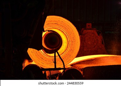 hot rolled steel process