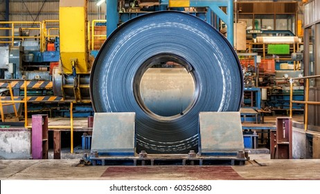 Hot rolling coil before machine skin pass mill in steel plant