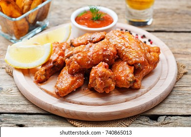 Hot and Spicy Buffalo Chicken Wings