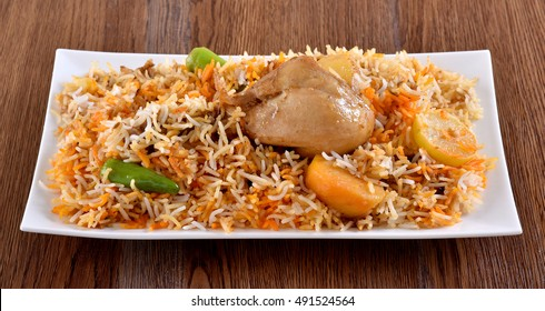 Hot and spicy extremely delicious and mouth watering Chicken Biryani