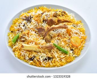 Hot and Spicy Mutton Biryani