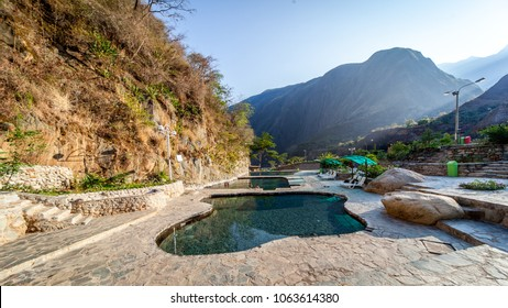 Hot spring of Santa Teresa close to Machu Picchu in Peru.