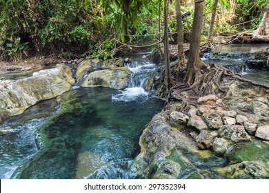 Hot Spring in the south of Krabi province in Klong Thom are nature own hot-tub jacuzzis, nam tok rawn in Thai.