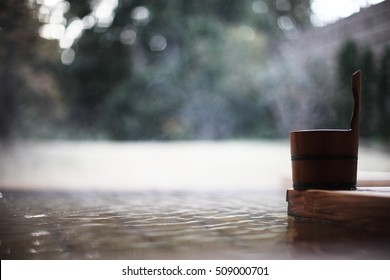 Hot spring water