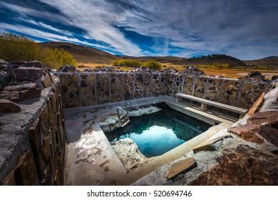 Hot Springs Oregon Hart Mountain National Antelope Refuge