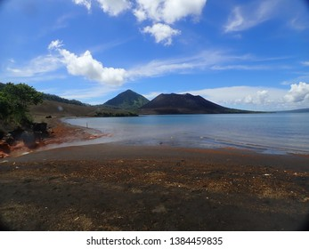 Hot Springs in Rabaul next to Mountain Tavurvur , Rabaul Twon . East New Britain , Papua New Guinea. Top Things to do in Rabaul .