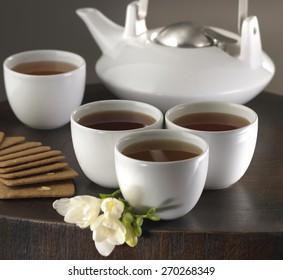 Hot Tea service