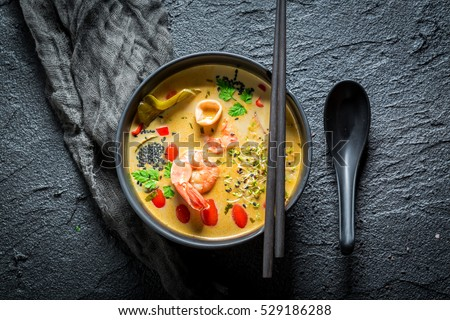 Hot Tom Yum soup