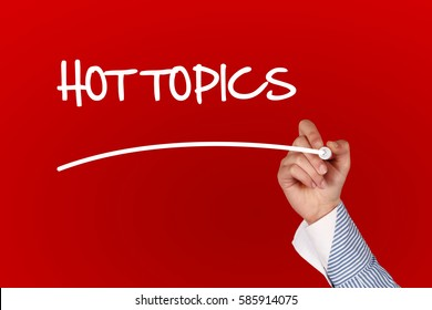 Hot Topics concept