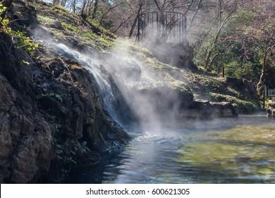 Hot Water Cascade, Hot Springs National Park