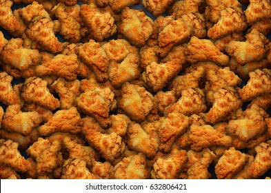 Hot wings background