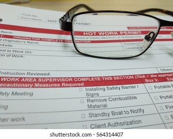 Hot Work Permit form and checklist. Hot work permit is a safety tools to ensure safe operation conducted before activity conducted.