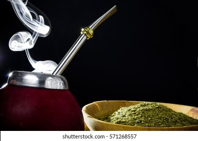 Hot yerba mate