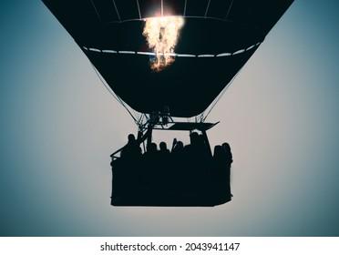 Hotair Baloon at Dawn in Cappadocia