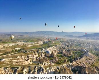 hotairballoon cappadocia, Turkey