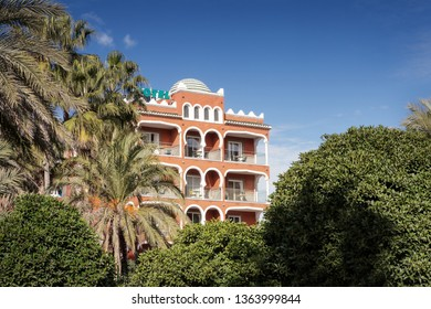 hotel in almunecar, town on the spains south coast.