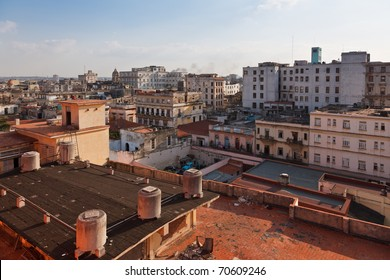 Hotel Ambos Mundos - view from the rooftop terrace