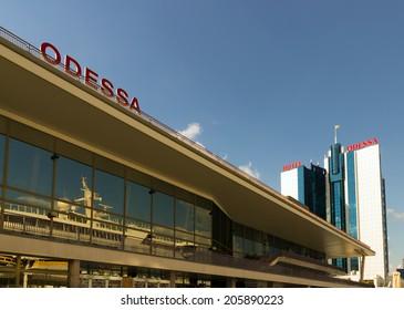 Hotel building Kempinski in the port of Odessa, Ukraine.