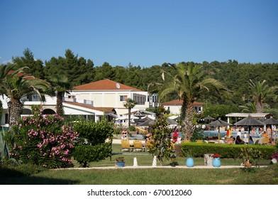 Hotel Chrousso Village, Chalkidiki, Greece, June 21, 2017