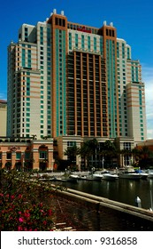 Hotel in the Convention Center area, Tampa, Florida, USA.