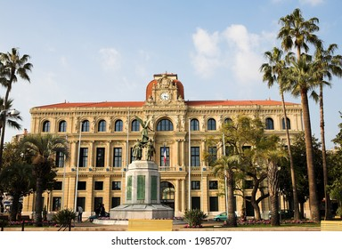 The Hotel de Ville in Cannes, France