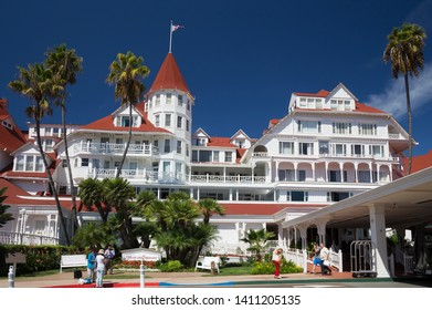 Hotel del Coronado (also known as The Del and Hotel Del) is a historic beachfront hotel in the city of Coronado, just across the San Diego Bay from San Diego, California. September 24th 2016