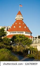Hotel Del Coronado in Coronado, California, near San Diego
