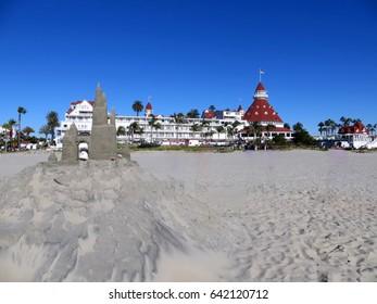 Hotel Del Coronado Sand Castle